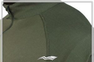collared tactical shirt ventilation close up