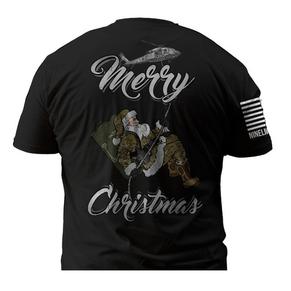 Nine Line Tactical Santa Shirt
