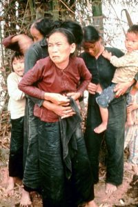 My Lai villagers during the massacre