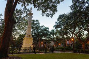 Pulaski Statue Savannah GA