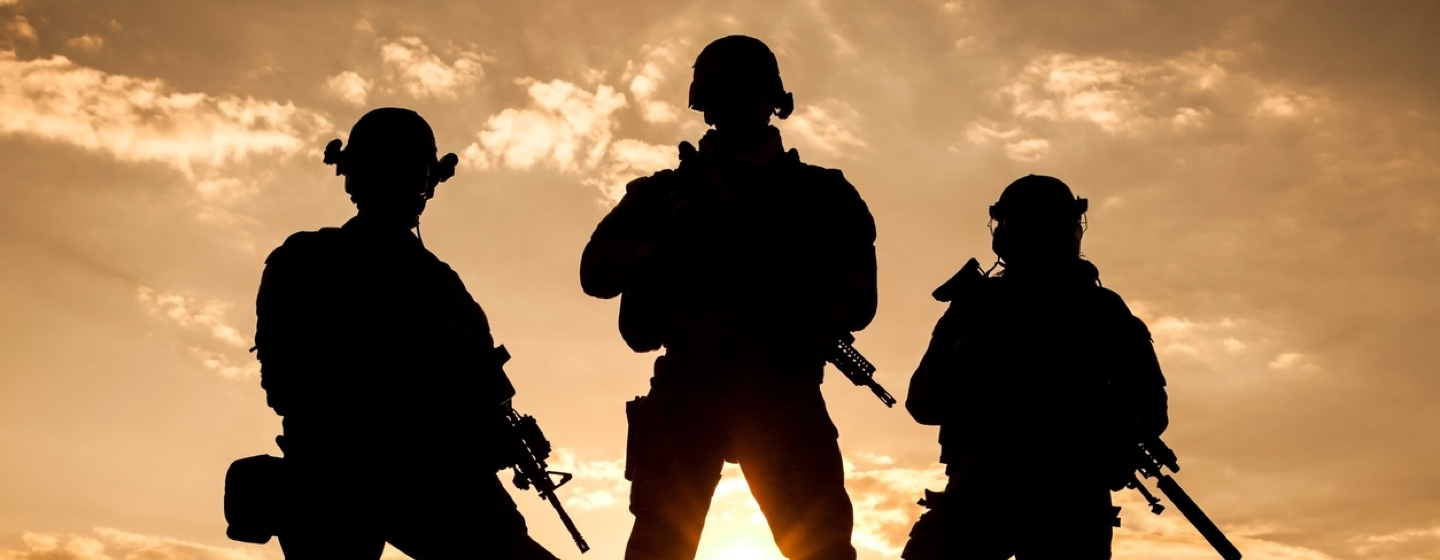 army special forces troops
