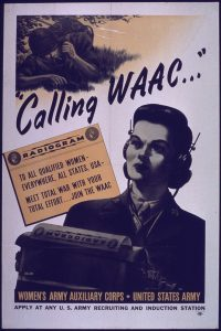 Women's Army Auxiliary Corps Poster