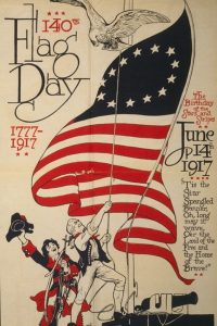 flag day advertisement