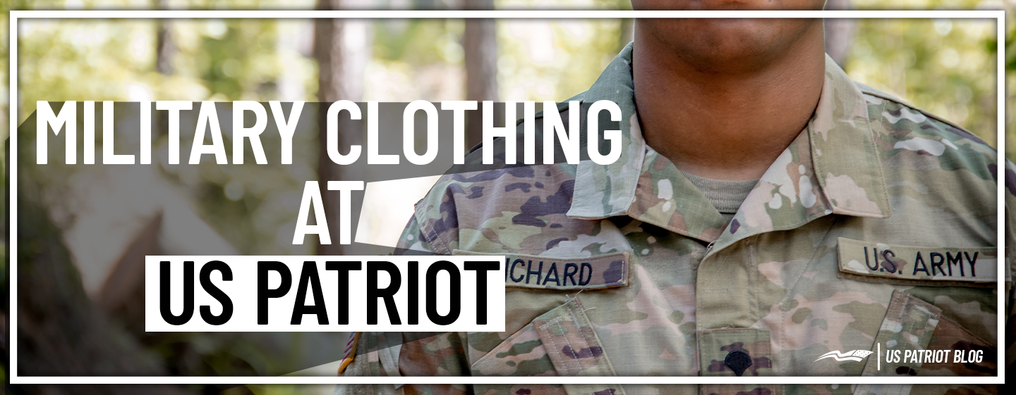 Military Clothing at US Patriot