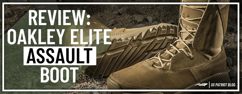 Review: Oakley Elite Assault Boots