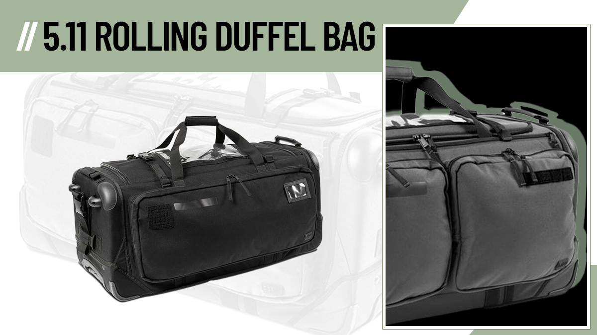 511 Tactical SOMS Rolling Duffel Bag