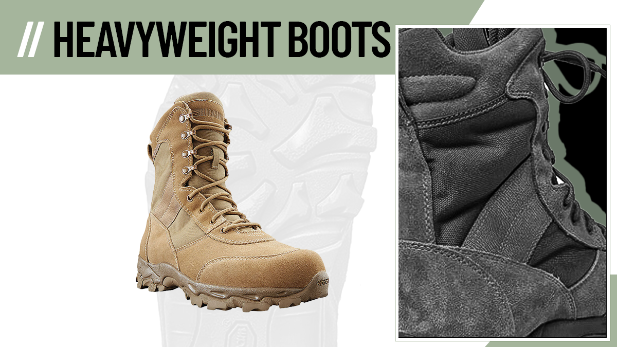 Heavyweight Army Boots