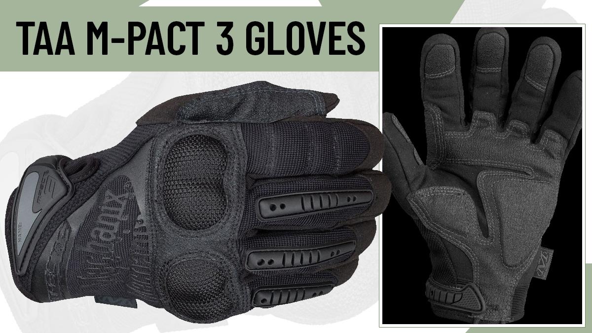 Mechanix Wear TAA M-Pact 3 Gloves
