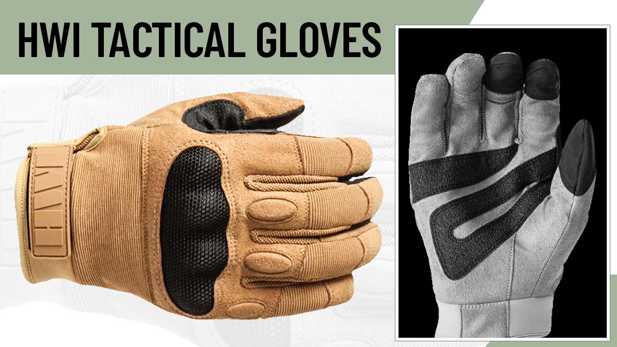 HWI Hard Knuckle Gloves