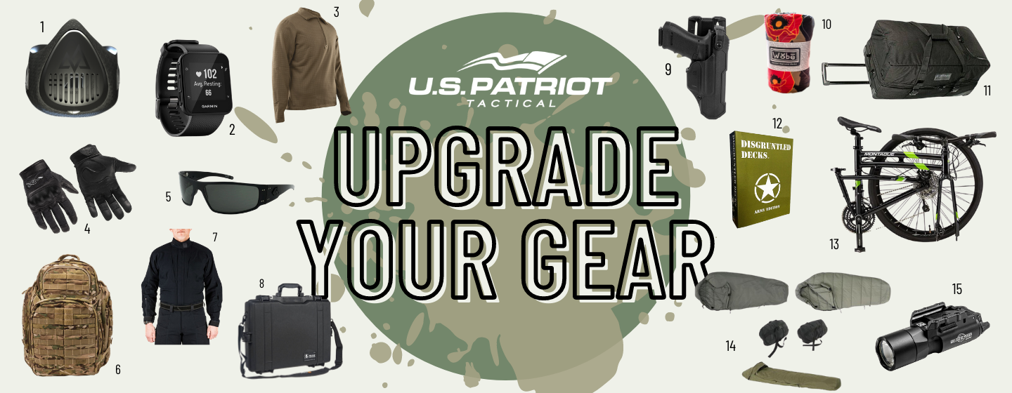 upgrade your gear
