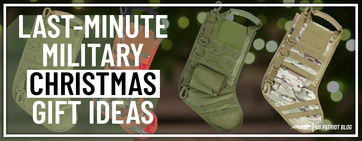 Last Minute Military Christmas Gift Ideas