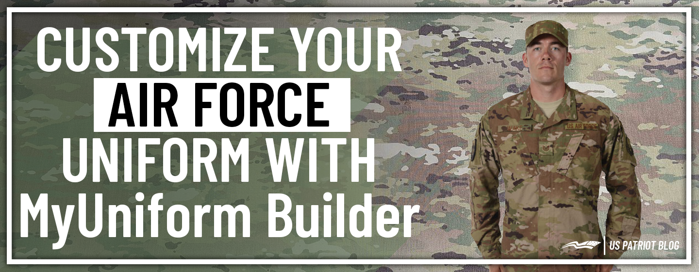 Customize Your USAF Uniform