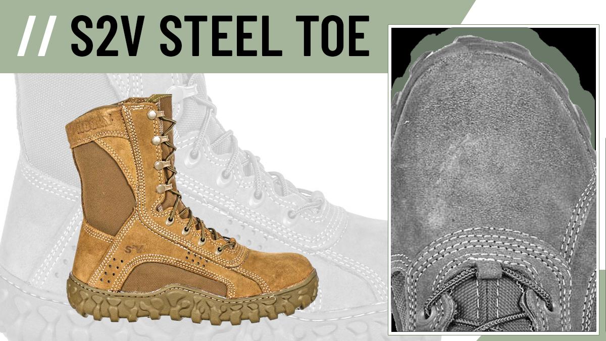 Rocky S2V Steel Toe