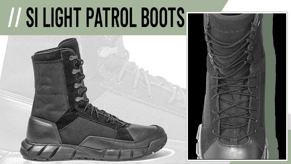 SI Light Patrol Boot