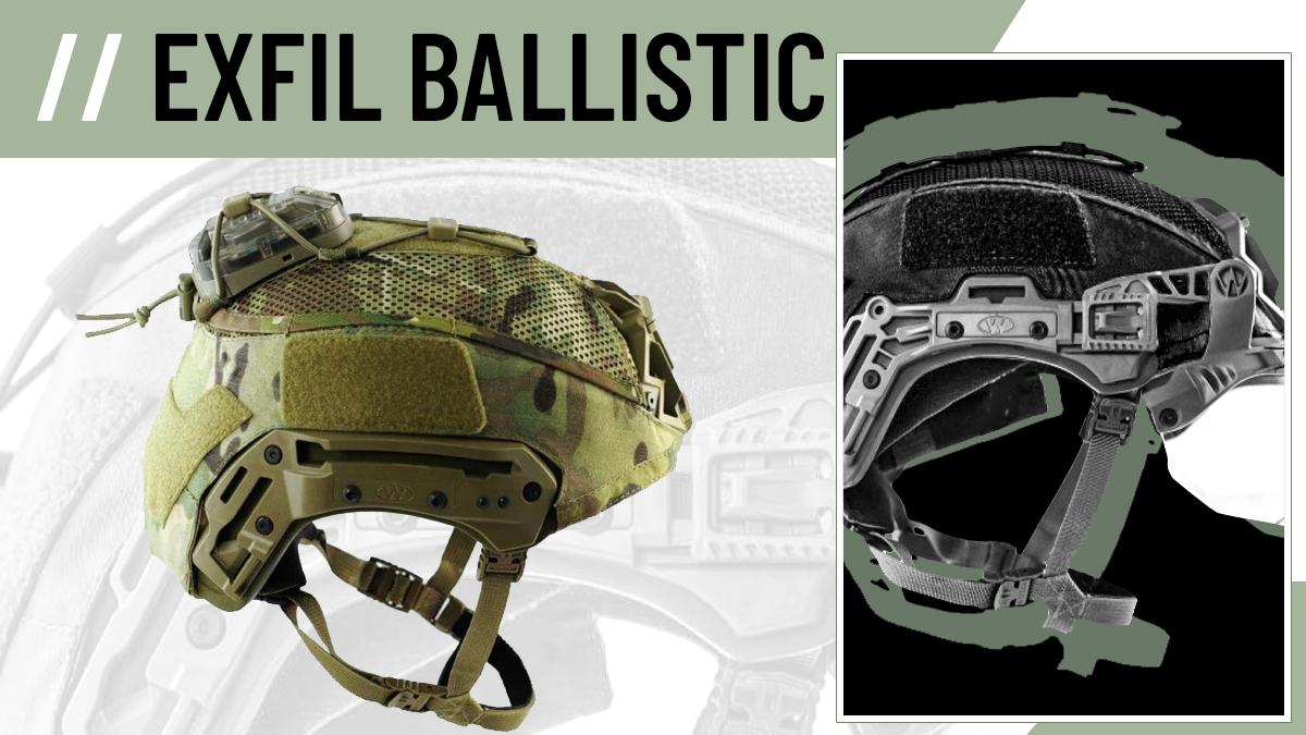 Agilite Team Wendy EXFIL Ballistic Helmet Cover