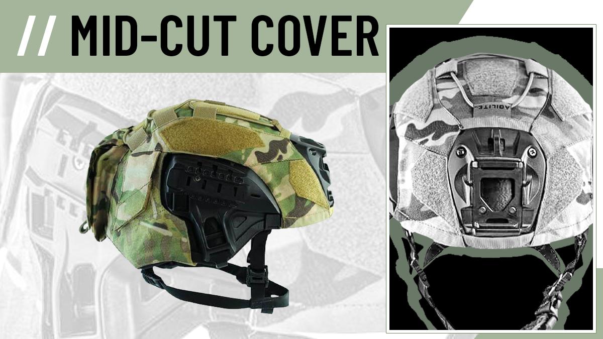 Agilite 3M F70 MidCut Helmet Cover