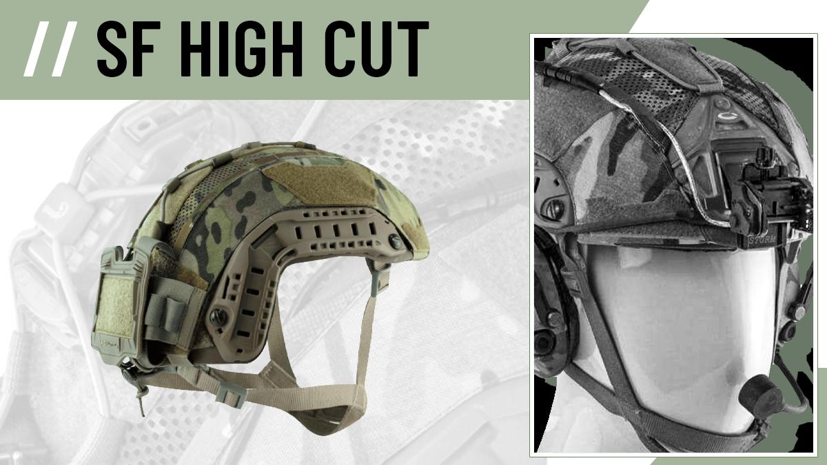 Agilite SF Super High Cut Helmet Cover