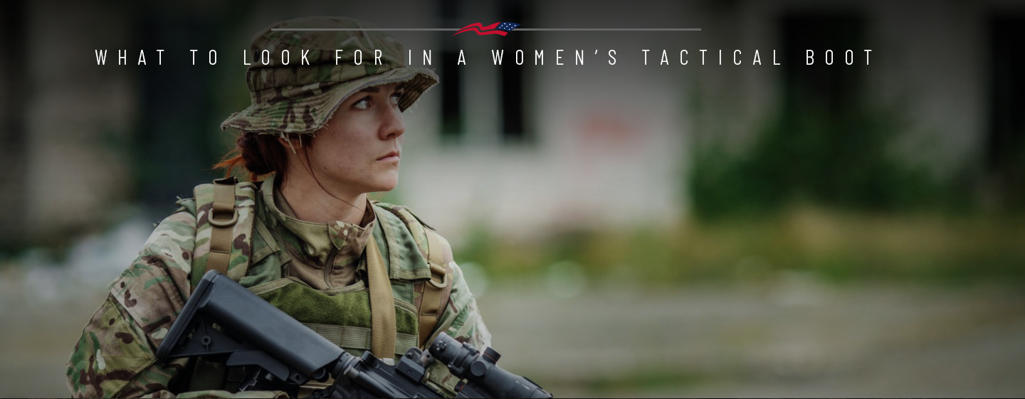 What to Look for in Woman's Tactical Boots