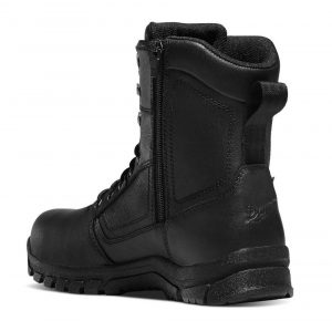 danner side zip police boot