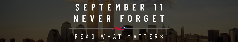 September 11 Never Forget